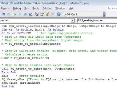 Excel VBA & Macros