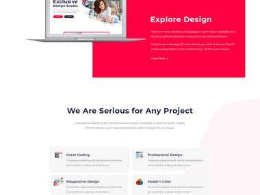 Creative Agency website deisgn