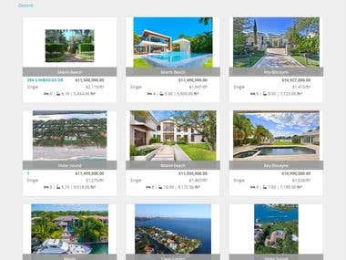 Real Estate universal database connection w/Wordpress + DIVI