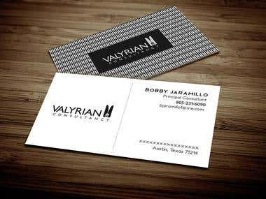 Brand Identity For Valyrian Consultancy
