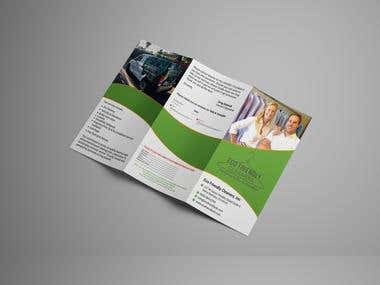 Laundry service brochure
