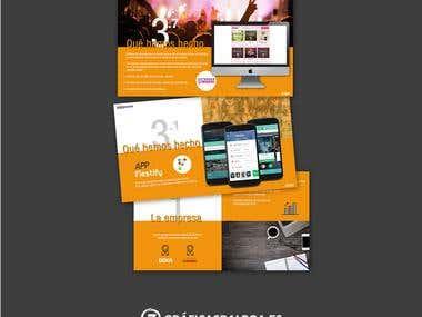 Diseño / maquetación dossier empresa