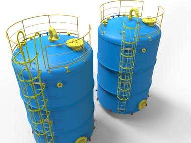 Chemical tank, Industrial Tank