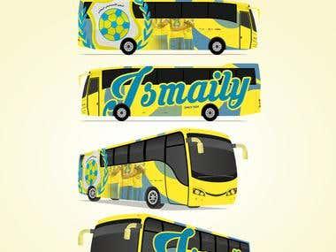 Ismaily SC bus design!