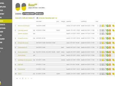 Baseºº · Content System Management