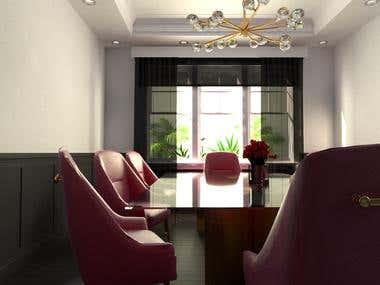 Dining room design.