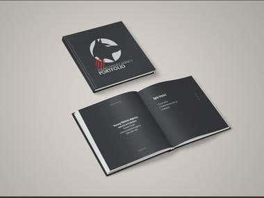 Portfolio book idea.