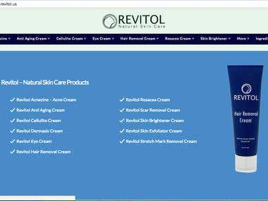 Revitol Skin Care Products
