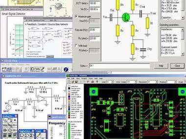 Electronics circuits software