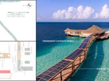 Design and installation of custom solar systems