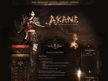 RPG Game Site