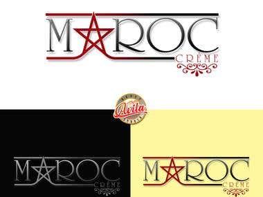 Maroc Creme Logo Design