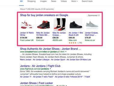Google Adwords Shopping Ads