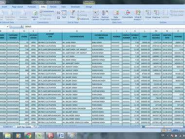 Skill in Microsoft Excel