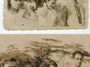 Restauración de fotografía