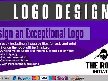 LOGO DESIGN 100%ORIGINAL