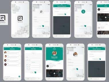 Qrees Social App