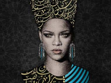Rihanna artwork