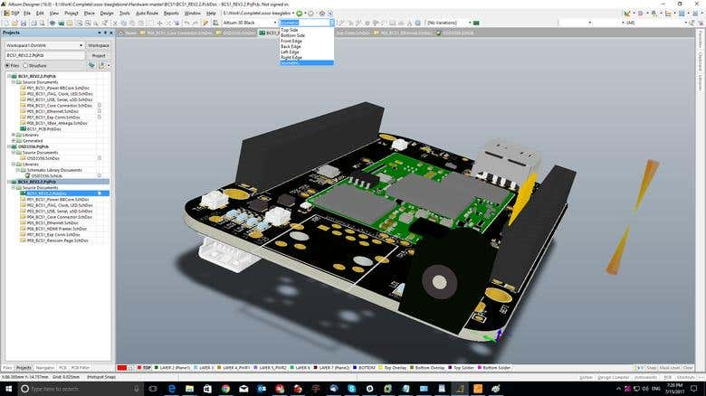 PCB layout (Altium and Eagle) & Embedded firmware | Freelancer