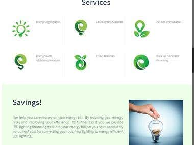 Content Management Website for Electrical Equipment Sales