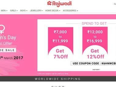 Rajwadi - Online Fashion Store