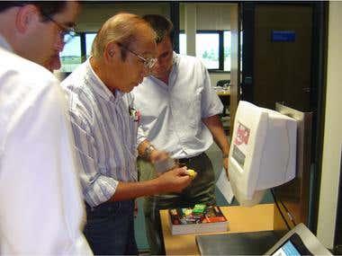 PLURA | Electronic kiosk | Year:2005