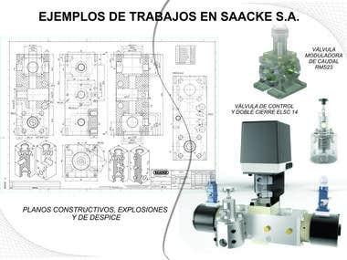 Ejemplos de Trabajo en Saacke S.A.