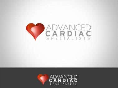 Advanced Cardiac Specialists Logo Design
