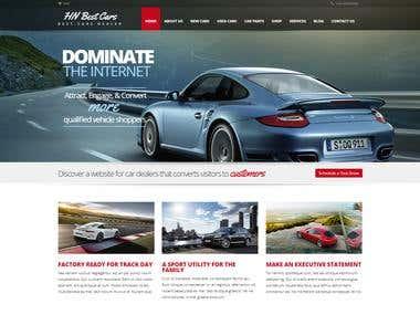 Car Dealer's Webpage