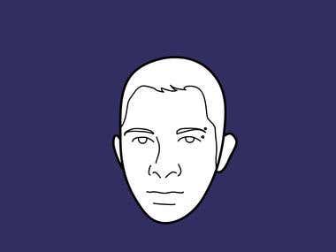 2D sample animation