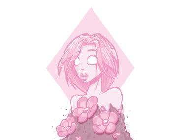 Pink Diamond Inspiration - Steven Universe
