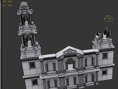 Paricutín - 3D Building