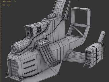 Aerobike - 3D Vehicle