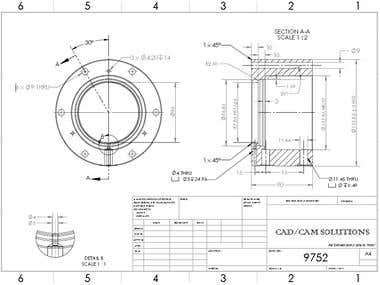 AutoCad 2d Drafting for our US based Client
