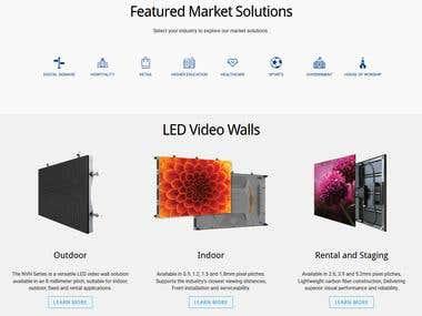 LED & LCD Video Walls