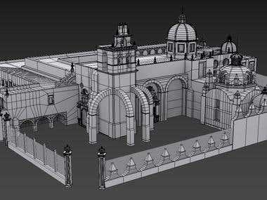 Nuestra Señora - 3D Building