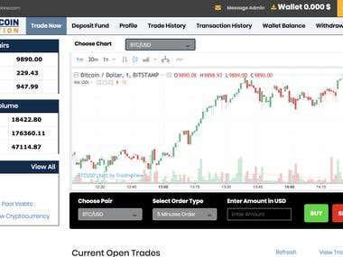 Bitcoin Trading Portal