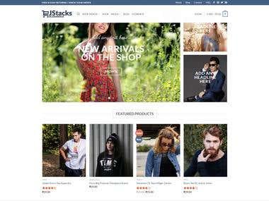 Jstacks eCommerce