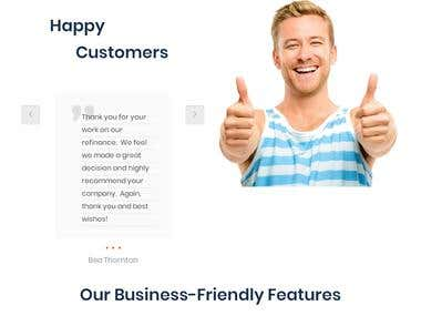 Content Management Website for a Financial Institution