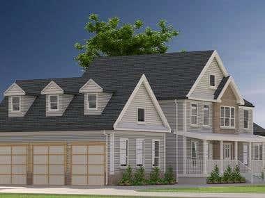 exterior rendering,..