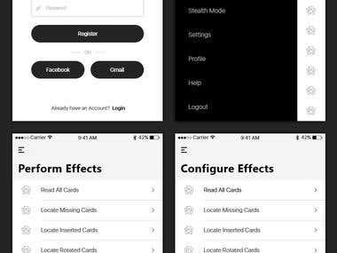 iOS App for Magician