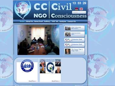 Civil NGO Consiusnes Official Site