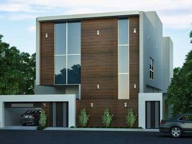 Saudi Arabia Home Exterior design