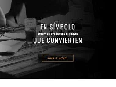 Sitio Web Simbolo Multimedia