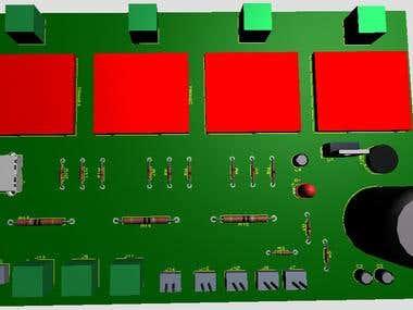PCB Design and Proteus