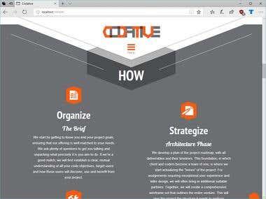 Advanced Corporate Website