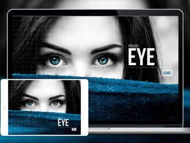 Website for an Ocular Tech Project