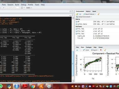 Marketing Mix Modeling using Linear Regression