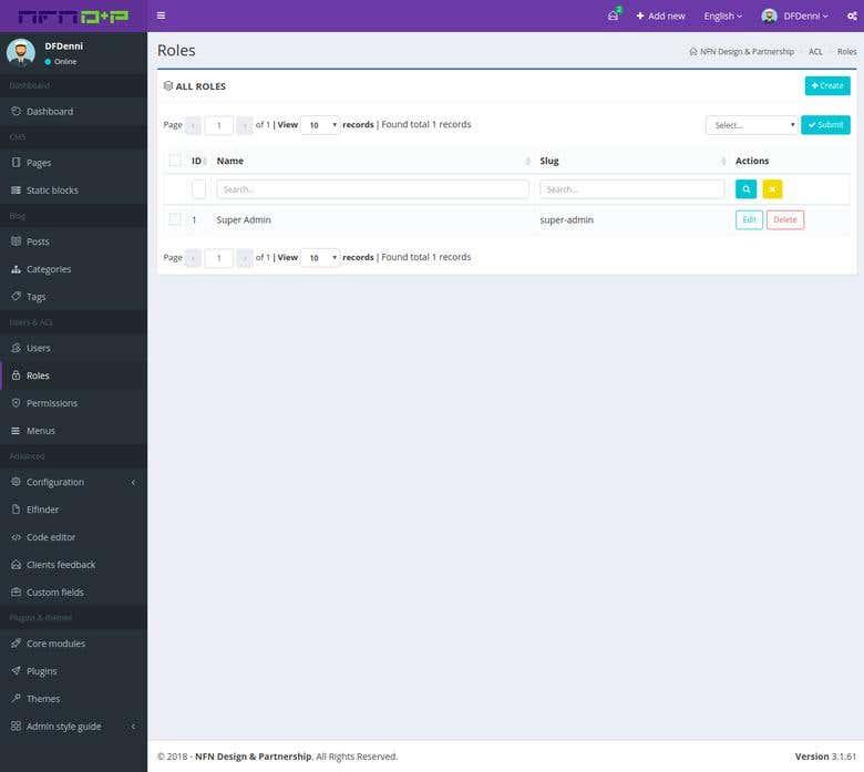 Laravel 5 4 CMS | Freelancer