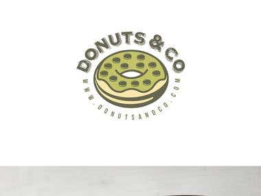 DONUTS & CO LOGO